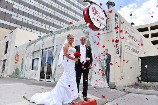 Las Vegas wedding package for two