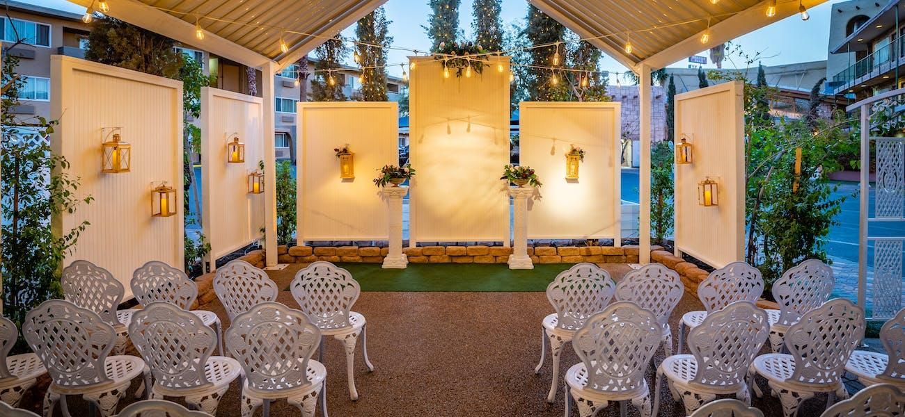 Wedding venue on the Strip