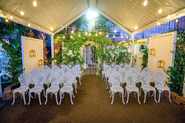 Bell Garden - Places to get married on the Vegas strip