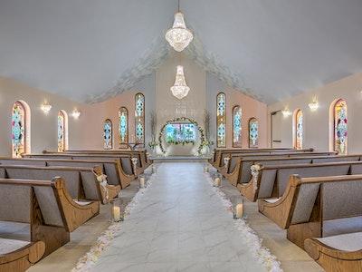 Elopement ceremony decor