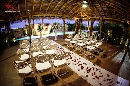 The Poolside Gazebo At Hilton Garden Inn Vegas Weddings