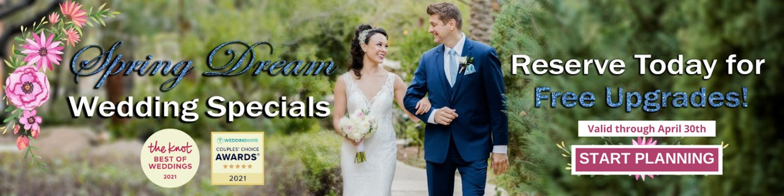 Vegas Weddings Specials