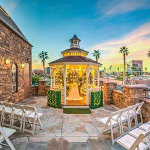 The Terrace Gazebo - An Outdoor Wedding Venue