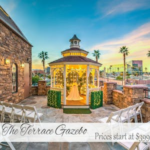 The Terrace Gazebo - An Outdoor Wedding Venue