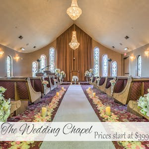 THE Wedding Chapel - wedding venue by Vegas Weddings