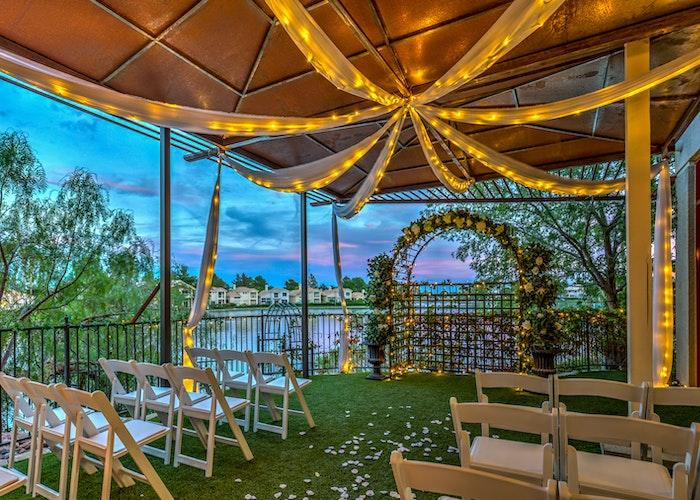 Las Vegas Lake Wedding Venues Garden Waterfall Receptions