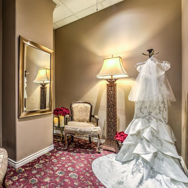 The Bridal Suite dressing rooms