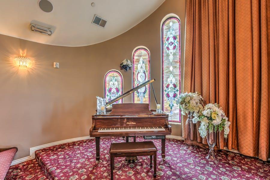 THE Wedding Chapel Grand Piano