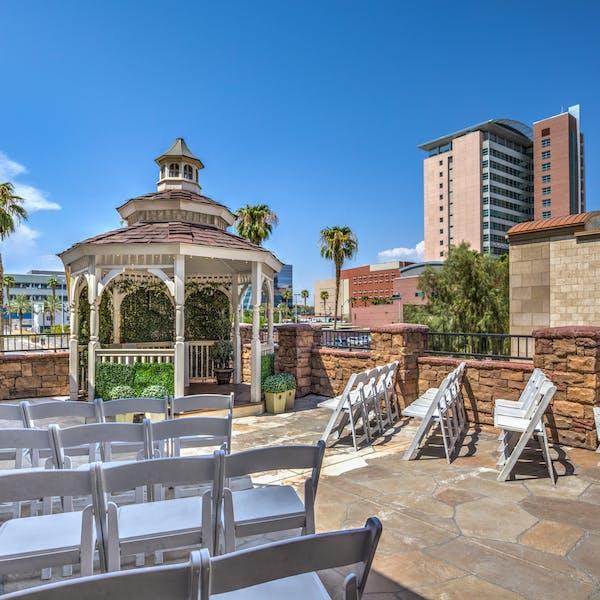 The Terrace Gazebo Vegas chapel