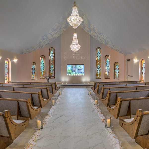 One of the most popular Vegas wedding chapels