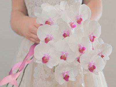 Noelani - Dendrobium Orchid Calla Lily Mix bouquet