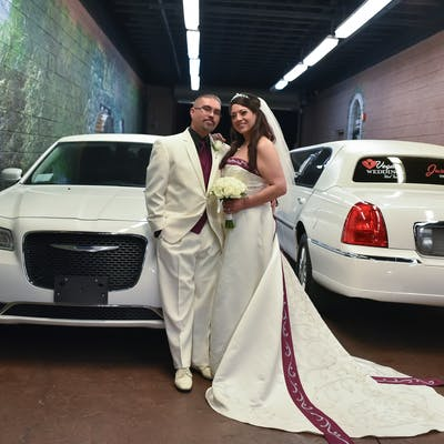Limo for your marriage license and wedding day