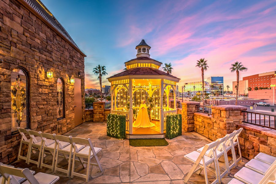 Las vegas wedding venues choice image wedding dress for Terrace gazebo