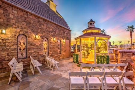 The Terrace Gazebo An Outdoor Wedding Site