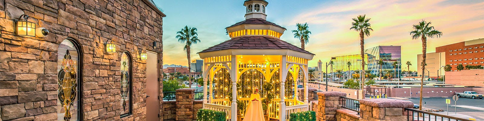 Terrace Gazebo Weddings in Las Vegas