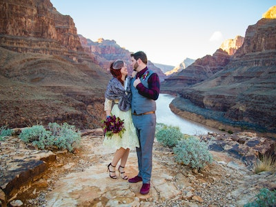 Grand Canyon Wedding by Helicopter
