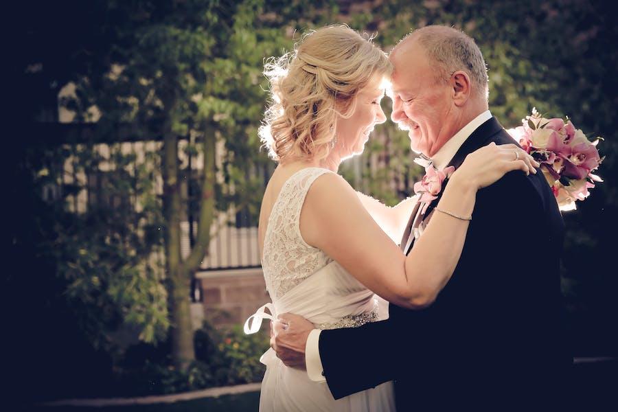 Outdoor las vegas wedding packages las vegas weddings older wedding couple dancing junglespirit Gallery