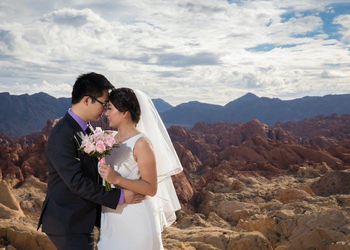 Nice Inexpensive Valley Of Fire Wedding Package Vegas Weddings