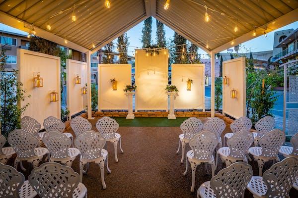 Bell Garden open air wedding venue
