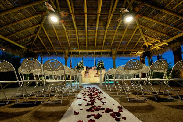 Hilton Hawaiian Garden Wedding venue