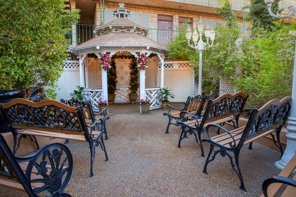 Wedding Gazebo on Las Vegas Boulevard