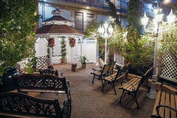The Boulevard Gazebo Las Vegas Wedding Venue