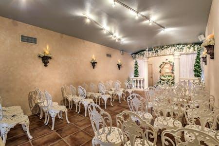 Wedding chapels in las vegas vegas weddings a garden wedding chapel junglespirit Gallery